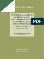 CDS & Bonds Empirical Analysis