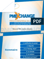 Dossier Marketing de présentation PME EXCHANGE
