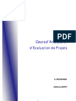 Analyse Et Evaluation de Projets