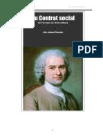 Du Contrat Social ( JJ Rousseau )