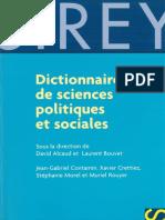 Dictionnaire Scpo