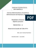 Material de Estudio Taller 4 Proyectos I y II