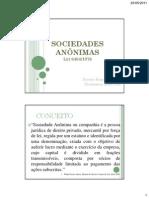 10 SOCIEDADES ANÔNIMAS