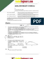 AIEEE- 2009 Full Paper[VERIFIED]by Team Nanban
