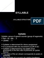 Phonology.3 Syllable
