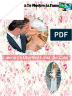 Revista Tu Objetivo La Fama - Edición Especial de Jimena