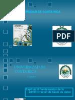 Capitulo 8 Fundamentos de Administracion de Base de Datos