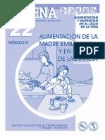 Cadena 22 Alimentacion Durante Embarazada y Lactancia