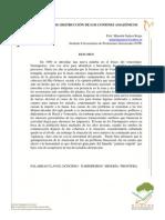 Historia Ambiental, Ecohistoria y Geohistoria. Mesa 11