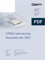 HTML5 Web Security v1.0