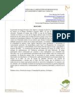 Gestión de Riesgo y Fenómenos Ambientales (Mesa 4)