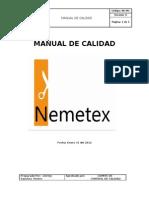 Af-omc Manual de Calidad Nemetex