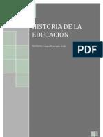 LA HISTORIA DE LA EDUCACIÓN original