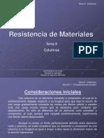 Resistencia de Materiales Tema 6