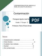 Portugues.contaminacion