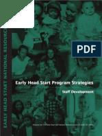 early headstart staff development