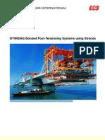 DSI Bonded PT System Strands En