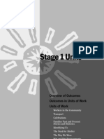 HSIE Stage 1 Units of Work