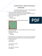Tutorial Macromedia Flash 8