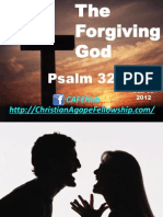 The Forgiving God