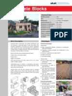 Concrete Masonry Block Manufacturing
