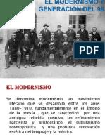El Modernismo y Generacion Del 98