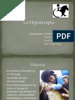 Trabajo de Hipoterapia.