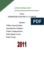 93568024 Administracion de La Calidad