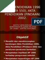 AKTA PEND 1