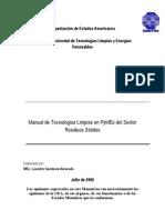 Manual de Tecnologías Limpias en PyMEs del Sector residuos