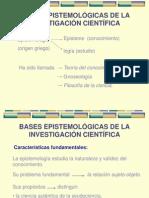 1. Bases epistemológicas de la investigación científica