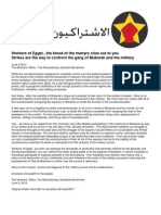 06/06/2012 Workers of Egypt RevSoc Statement