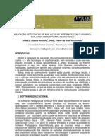 Avaliação de interfaces - Software Pedagógico