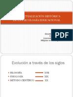 Contextualización histórica de la Psicología Educacional (PDF)