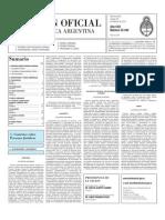 Boletín Oficial 28 de febrero de 2012 - Segunda Sección