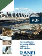 Impermeabilizacion con Laminas Asfalticas en zonas de Tráfico Rodado