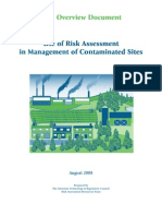Use of Risk Management in the Management of Contaminated Sites