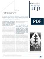 Entrevista Pública IRP - Patricio Aylwin