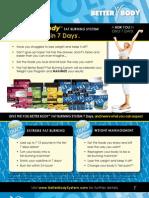 Yoli Better Body System Flyer