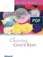 Choosing God's Best