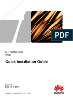 RTN XMC ODU Quick Installation Guide(V100_03)