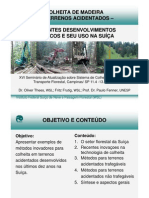 Colheita de Madeira Em Terrenos Acidentados Recentes Desenvolvimentos Tecnicos e Seu Uso Na Suica