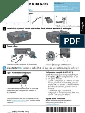 D110 BAIXAR PHOTOSMART DA HP IMPRESSORA SOFTWARE