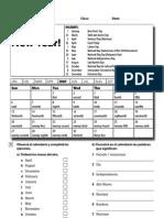 WU Starter Diagnostic Test AB