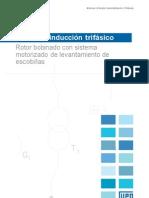 WEG Sistema Motorizado de Levantamiento de Las Escobillas 640 Catalogo Espanol