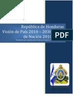Ley Visión de País y Plan de Nación (Español)
