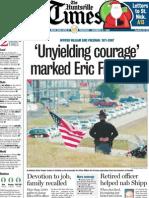 'Unyielding courage' marked Eric Freeman