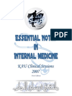 Essential Notes in Internal Medicine - 1st Ed