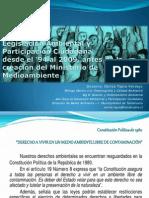 Legislación y Participación Ciudadana