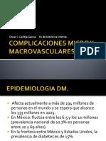 Complicaciones Micro y Macrovasculares de Dm